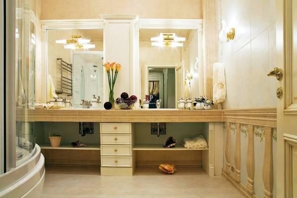 klasik tarzda banyo apliği, fotoğraf 28