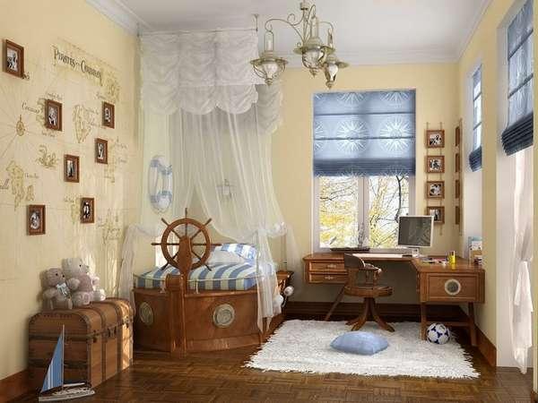 bir erkek çocuk odası için iç fikirler, fotoğraf 17