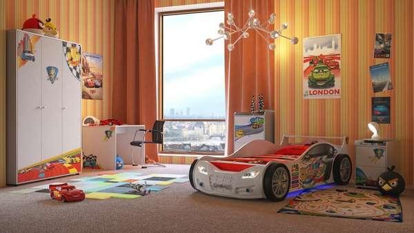 bir okul çocuğu için bir çocuk odasının içi, fotoğraf 21