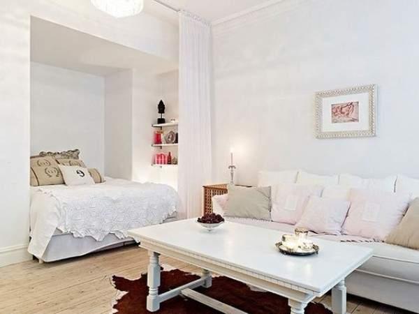 tek odalı küçük bir dairenin tasarımı, fotoğraf 4