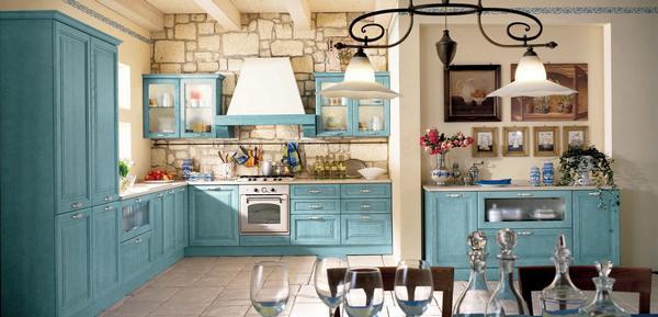 Provence tarzı mutfaklar