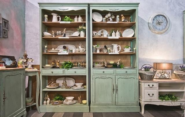 provence tarzında mutfak seti