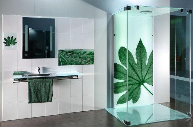 ilginç duş kabinlerinin tasarımı