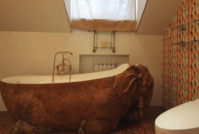 asimetrik banyo