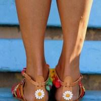 Модни вдъхновения... Бохо шик сандали...