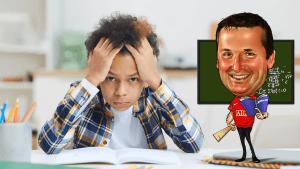 Mohamed geschorst omwille van lerarencartoon