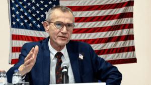 Verrassing van formaat: Frank Vandenbroucke wordt president van de VS