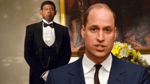 """Prins William: """"Wij zijn geen racisten, onze butler is ne zwarte!!"""""""