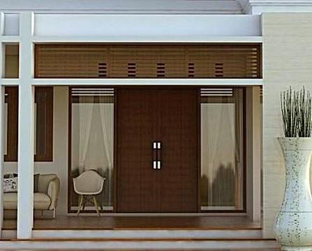21 Model Pintu Utama Rumah Minimalis 2 Pintu 2019 Dekor Rumah