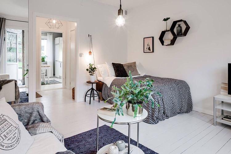 18 Desain Kamar Tidur Apartemen Minimalis Terbaru 2019