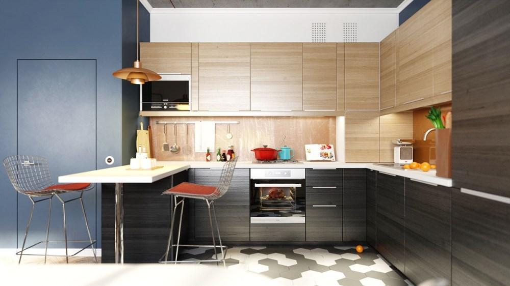 4 Kiat Menciptakan Kitchen Set Minimalis Modern