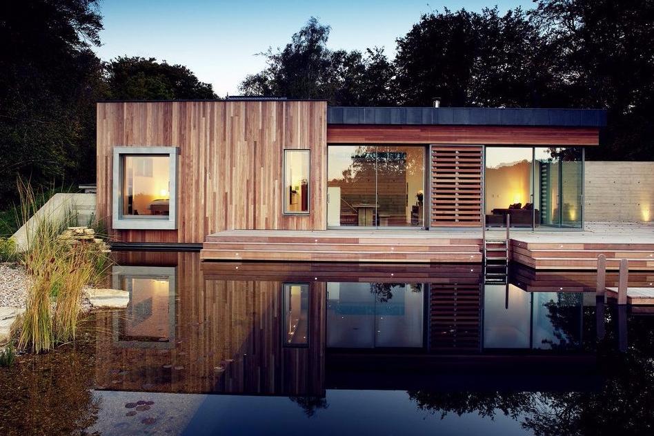 83 Gambar Desain Rumah Kayu Dan Tembok Gratis Terbaik Download