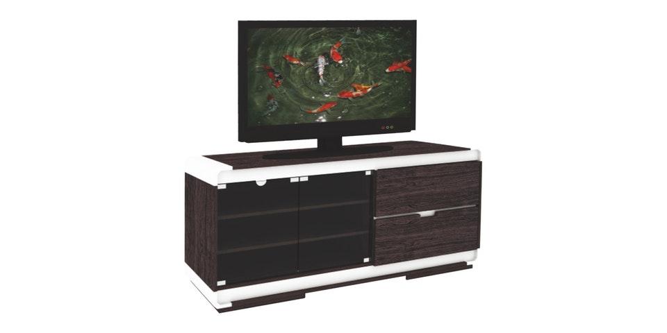 meja TV dengan rak
