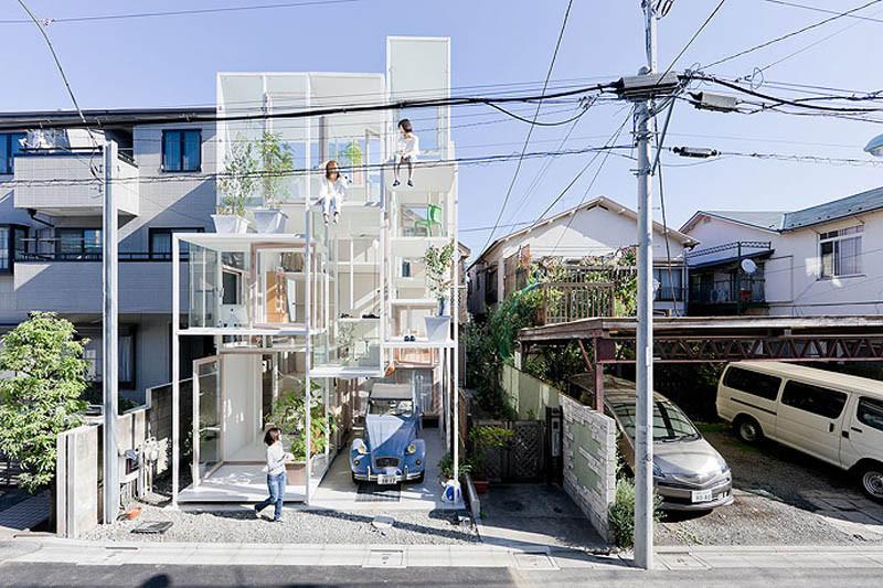 Rumah Unik Transparan di Jepang
