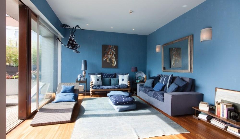 Warna Cat Rumah Biru