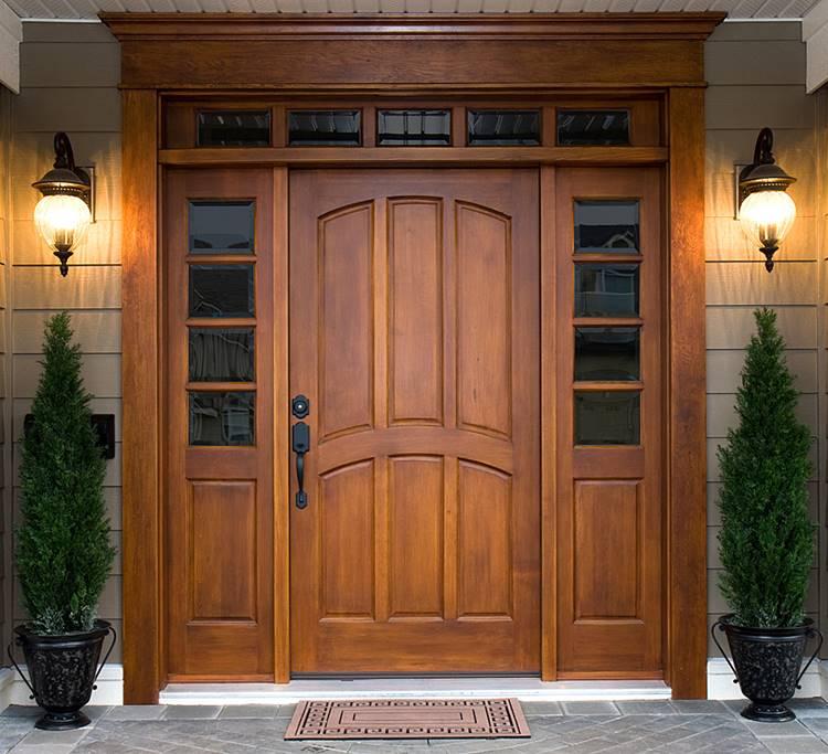 Kokoh Dan Menawan Simak 17 Desain Pintu Untuk Interior Dan