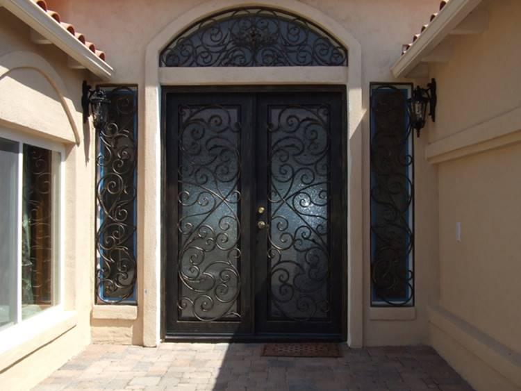 Inspirasi Desain Pintu Besi