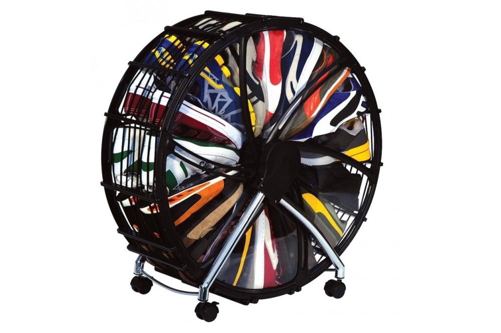 Rak Sepatu Model Roda