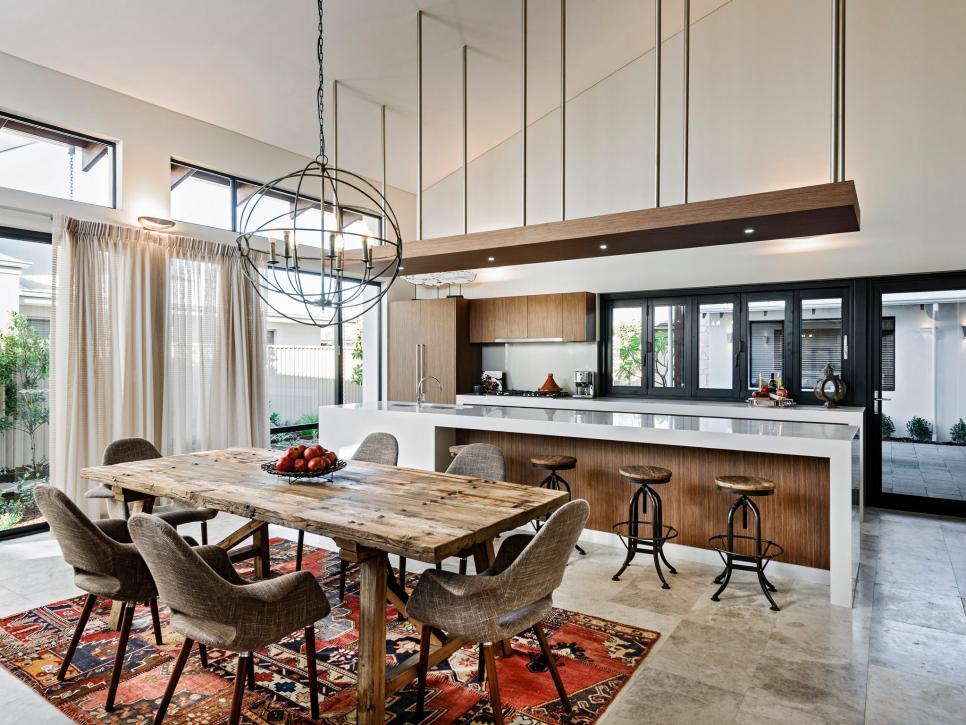 Dapur Minimalis Ruang Terbuka
