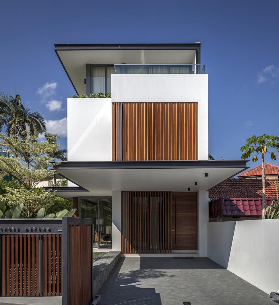 Rumah 2 lantai Mungil Natural & 8 Desain Rumah 2 Lantai Mungil ini Buat Keluarga Betah di Rumah