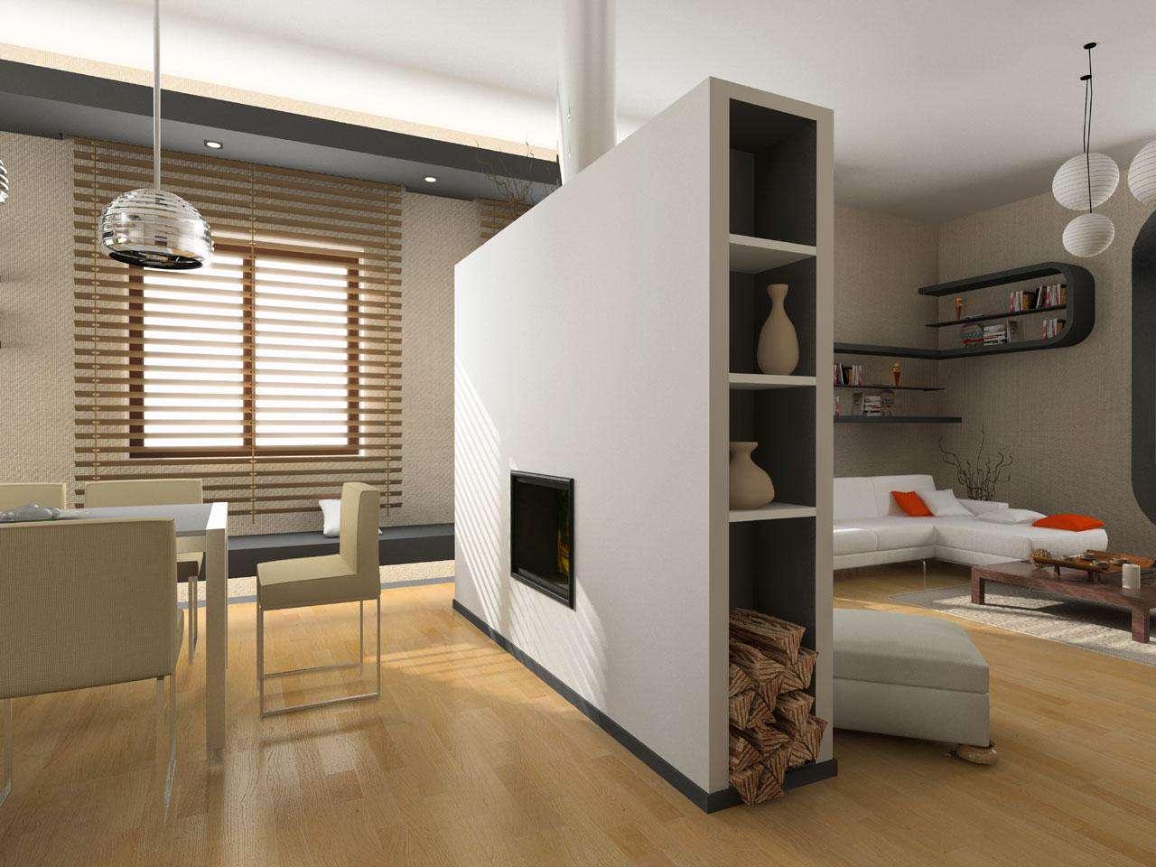 Buat Ruangan Lebih Luas Dengan Sekat Ruangan Minimalis