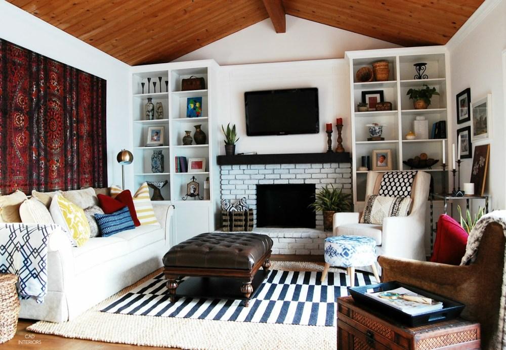 Dekorasi Rumah Ruang Keluarga Mandala