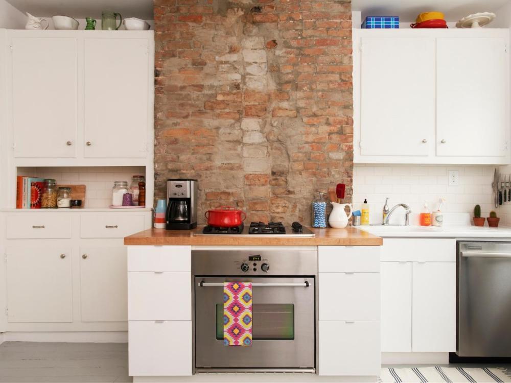 Kitchen Set Mini yang Hadir Di Tengah Ruangan
