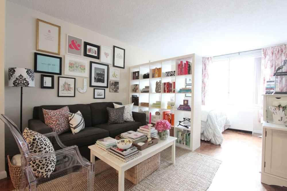 Desain Apartemen Studio Wanita Modern