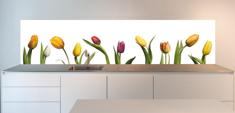 Dapur Cantik Tema Tulip