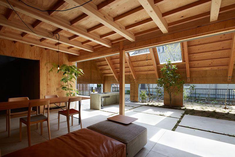 Open Space Dan Pencahayaan Alami Rumah Khas Jepang & Desain Rumah Adat Jepang \u0026 ... Arsitektur Rumah Jepang Desain ...