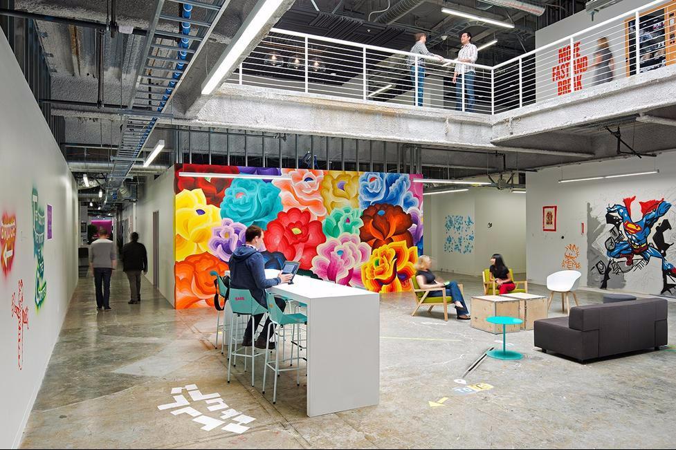 Ruang Kantor Facebook