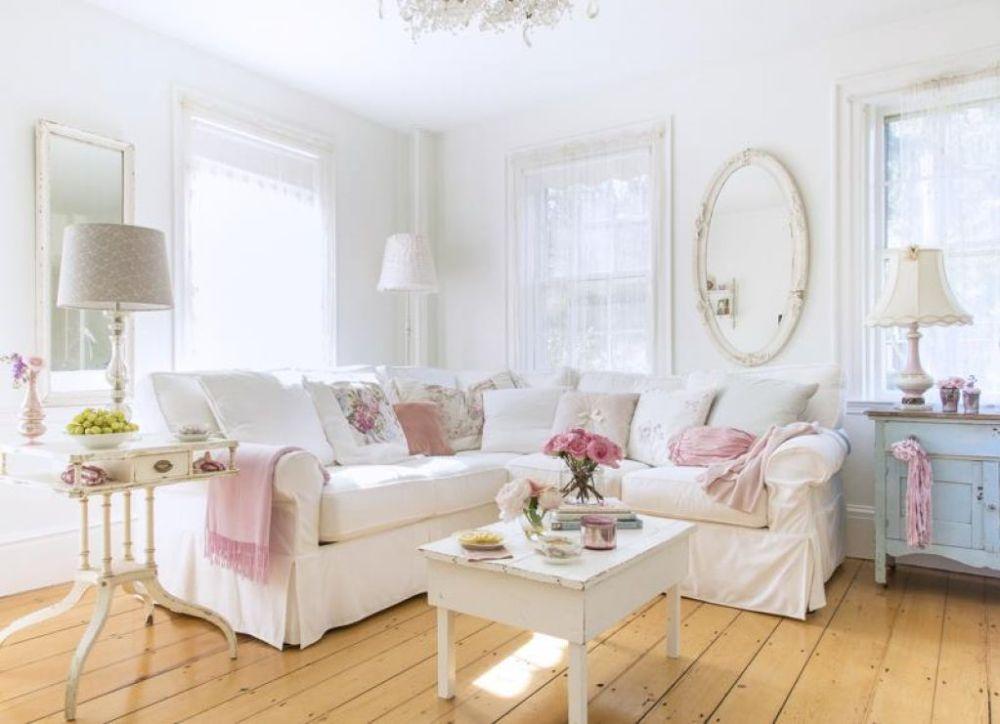 8 Ide Rumah Shabby Chic Untuk Rumah Kecil