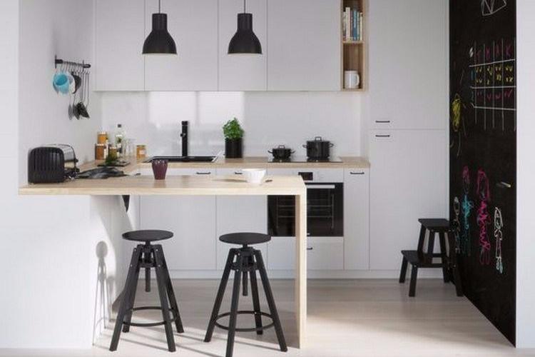 Desain Dapur Minimalis yang Berpadu dengan Desain Kontemporer