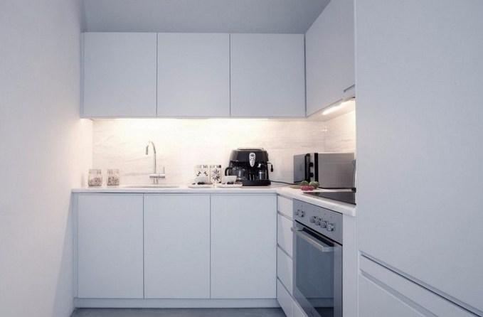 Desain Dapur Minimalis Serba Putih