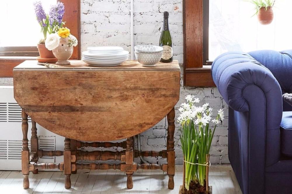 ruang makan meja lipat