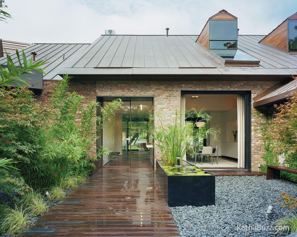 Desain Rumah Alami Modern Desain Rumah Modern