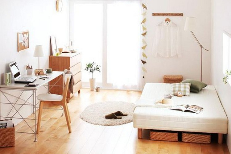 Desain kamar minimalis yang minim dekorasi