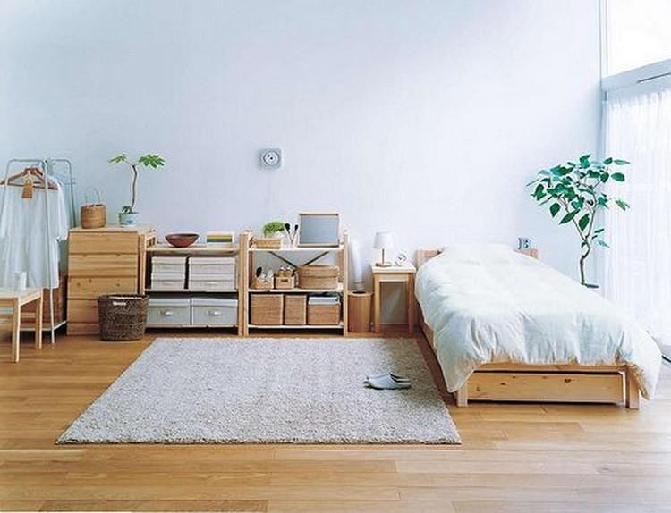 Desain kamar minimalis yang terorganisir