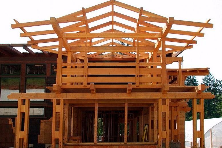 Arsitektur Rumah America Craftsman Atap