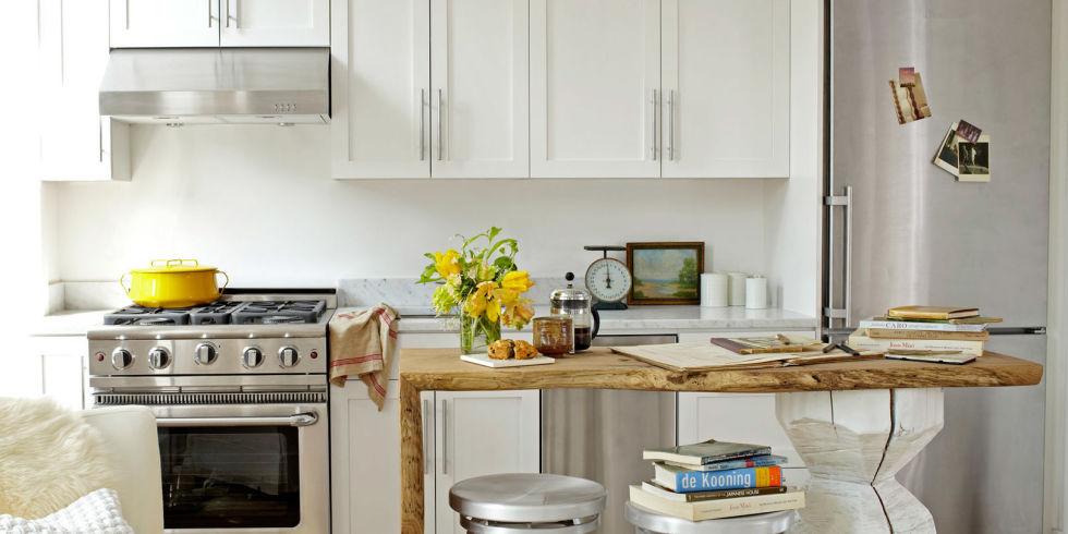 Desain Dapur Minimalis yang Digabung dengan Area Makan