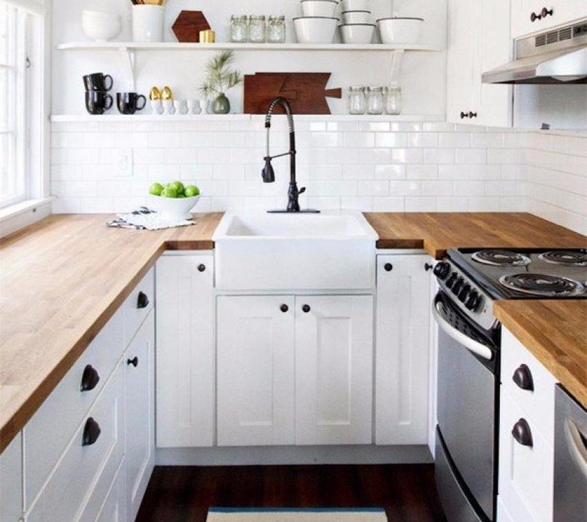30+ Desain Dapur Kecil Minimalis Sederhana Terbaru 2019
