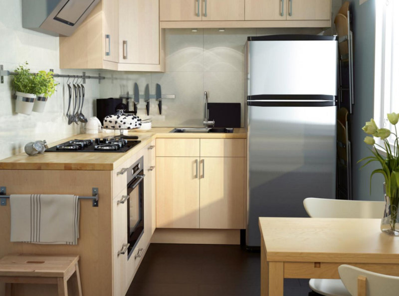 Desain Dapur Kecil L