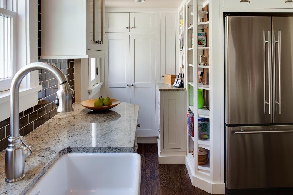 Desain Dapur Kecil Storage