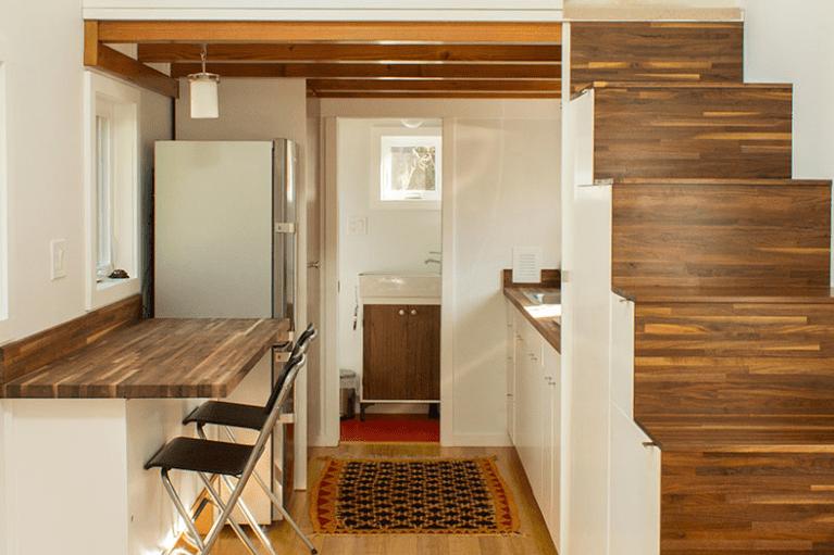 Desain Rumah Kayu Hikari Box
