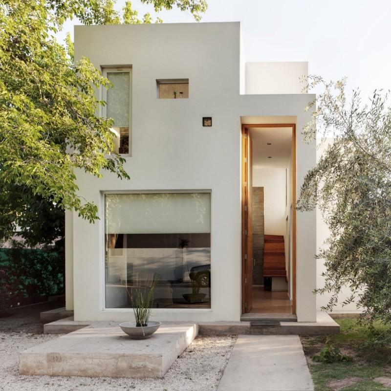 8 Inspirasi Desain Rumah Minimalis 2 Lantai 6 12 6x12
