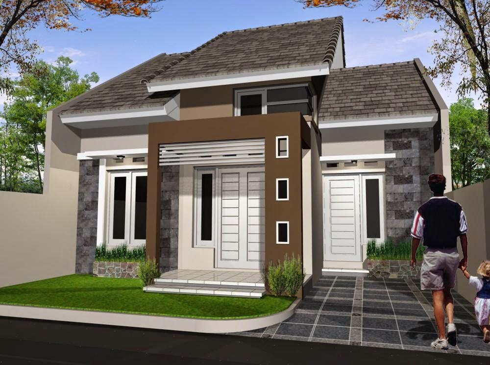 Model Rumah Sederhana Tipe 54