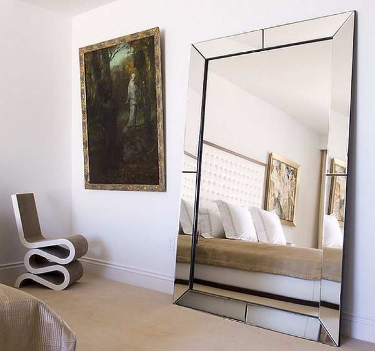 Display the mirror as a simple home decor