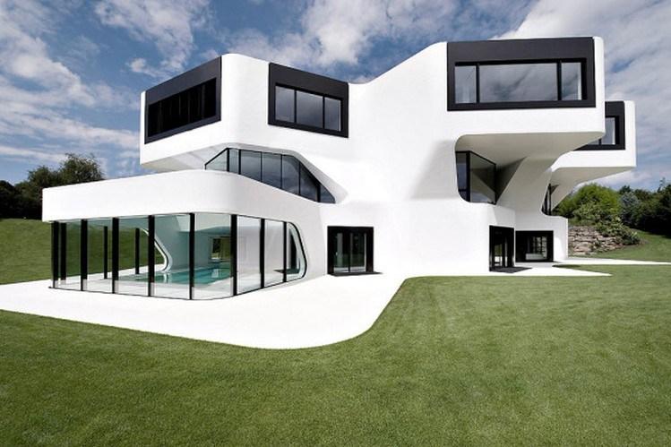 189+ Contoh Desain Rumah Unik Kekinian