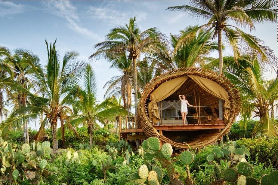 Kembali Ke Alam Dengan Desain Rumah Bambu Alami