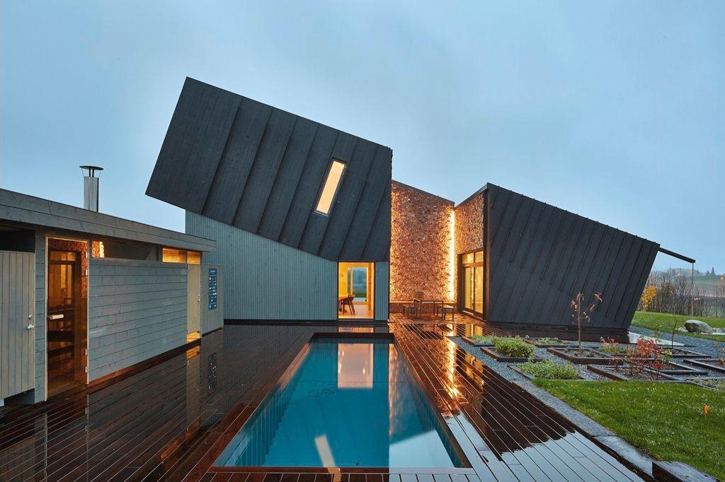 7 Desain Rumah Unik Modern Dari Seluruh Dunia